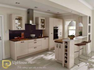 Những mẫu phòng bếp chung cư đẹp miễn chê