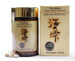 Review về sản phẩm thuốc Umi No Shizuku Fucoidan