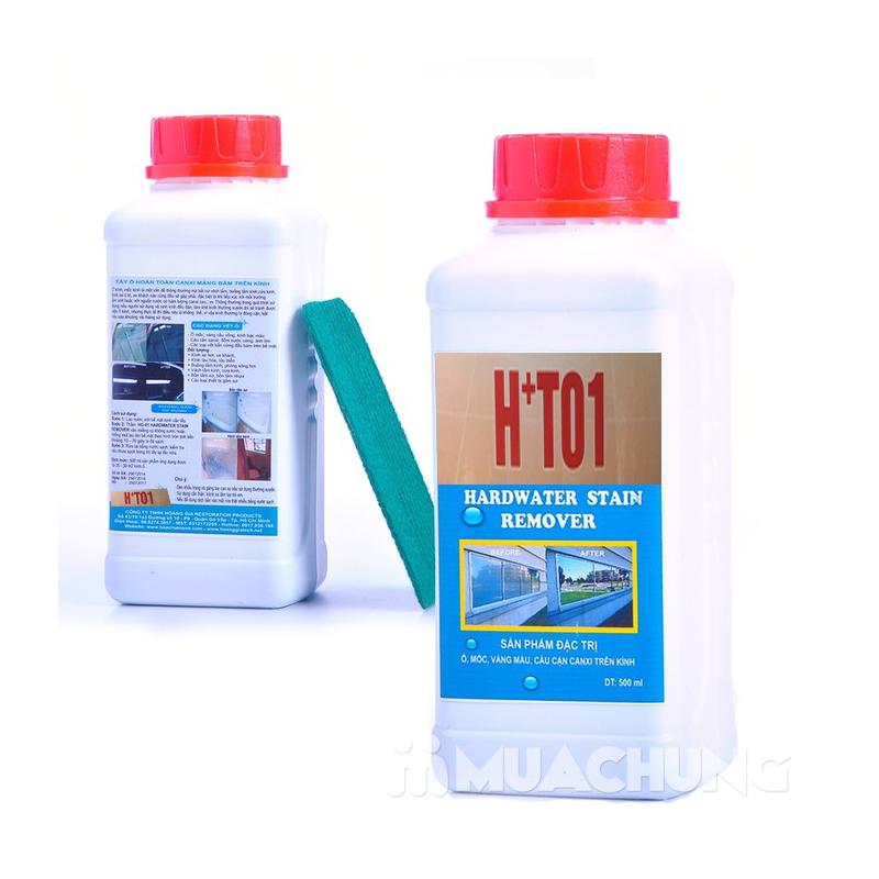 Nên sử dụng dung dịch acid pha loãng để tẩy mốc kính hay không.
